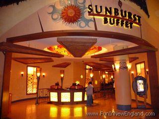 Malls In Ct >> Mohegan Sun - Sunburst Buffet - www.FunInNewEngland.com