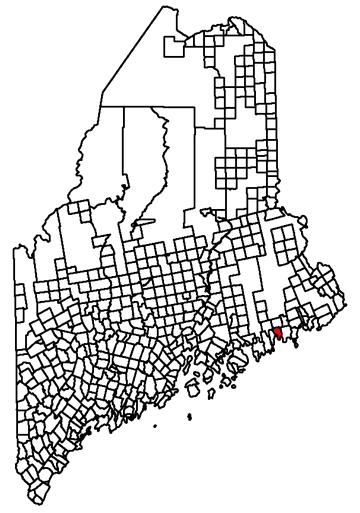 Harrington Maine Map.Fun In New England Harrington Me